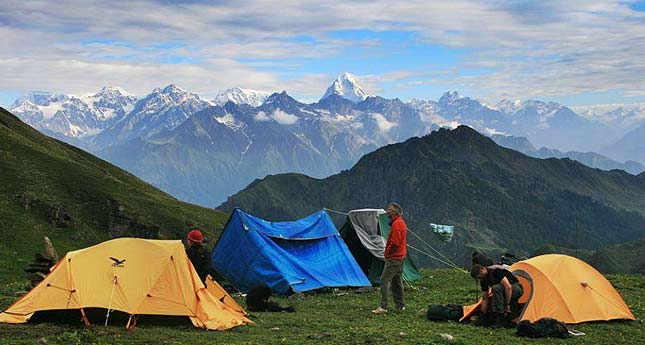 Trekking  in Kuari Pass Trekking trek tour