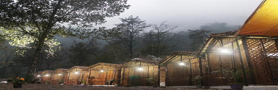 The River Lap Bamboo Cottages
