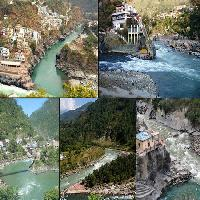 The famous Panch Prayag of Uttarakhand state
